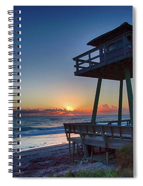 Watch Tower Sunrise 2 Spiral Notebook
