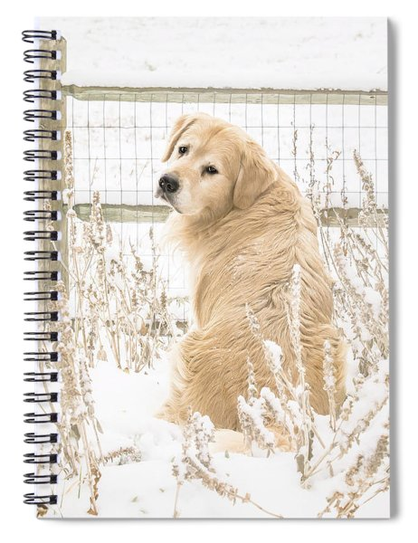 Watching It Snow Spiral Notebook