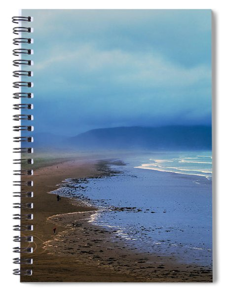 Watching The Approaching Storm Spiral Notebook