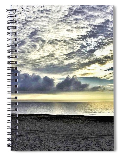 Watching The Clouds Spiral Notebook