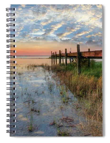Watching The Sun Rise Spiral Notebook