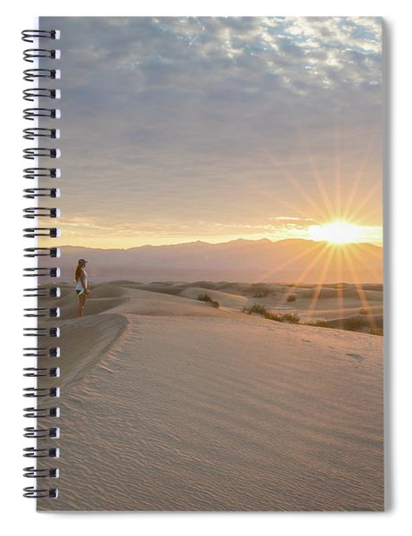 Watching The Sunrise Spiral Notebook