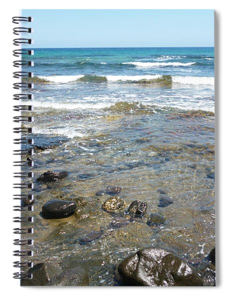 Water And Rocks Spiral Notebook