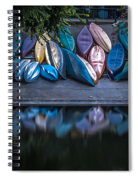 Water Color Spiral Notebook
