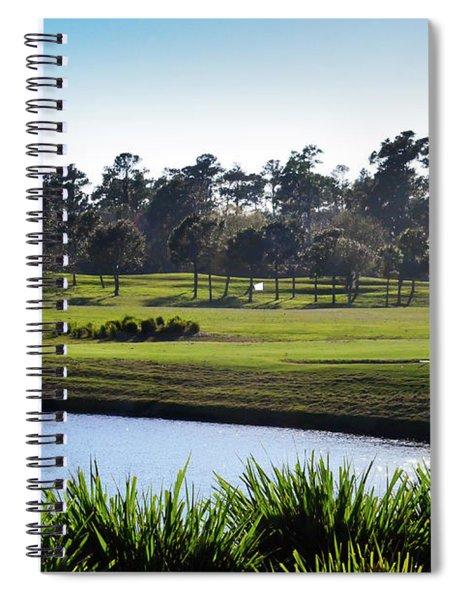 Water Hazard Tpc Sawgrass Spiral Notebook