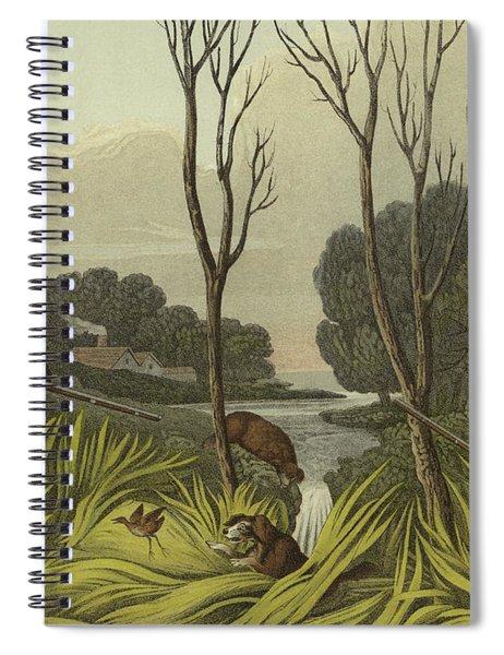 Water Hen Shooting Spiral Notebook