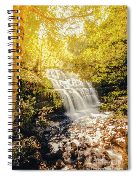 Water In Fall Spiral Notebook