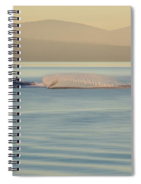 Water Like Glass Spiral Notebook