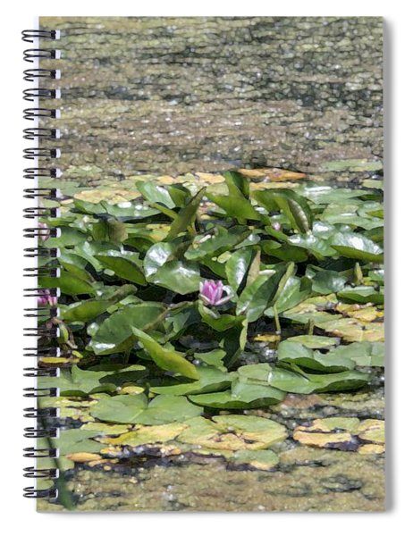 Water Lilies At Giverny - 5 Spiral Notebook