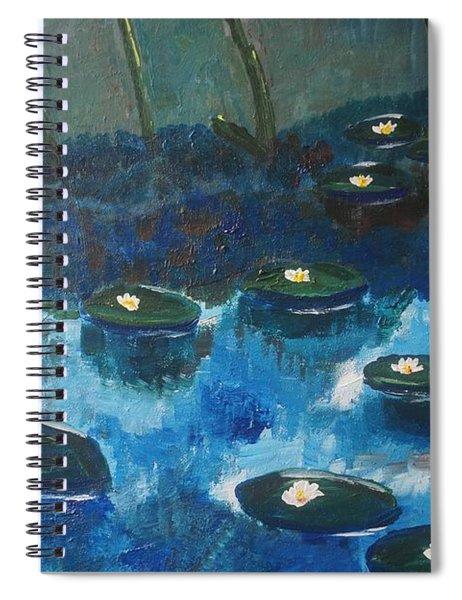 Water Lillies Spiral Notebook