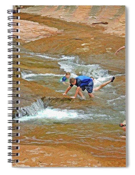Water Play 3 Spiral Notebook