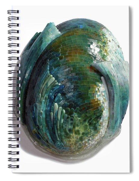 Water Ring II Spiral Notebook