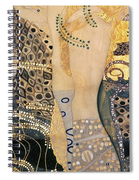 Water Serpents I Spiral Notebook