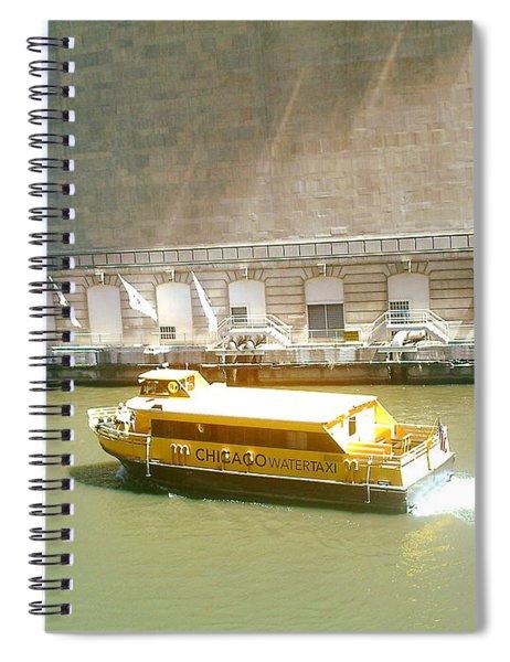 Water Texi Spiral Notebook