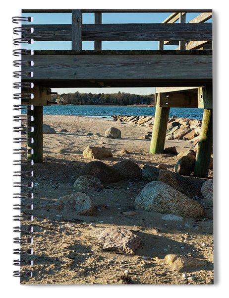 Water Under The Bridge Spiral Notebook