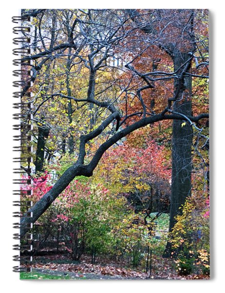 Spiral Notebook featuring the photograph Watercolor Forest by Lorraine Devon Wilke