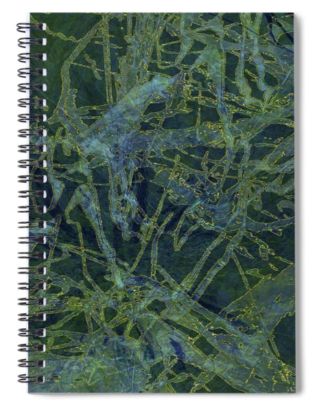 Edition 1 Watercolor Moss Spiral Notebook