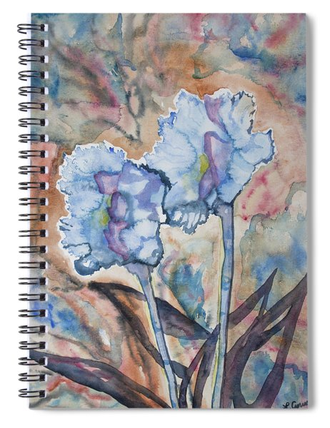 Watercolor - Orchid Impression Spiral Notebook