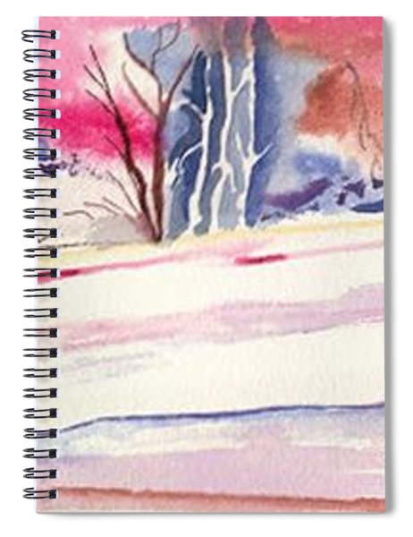 Watercolor River Spiral Notebook