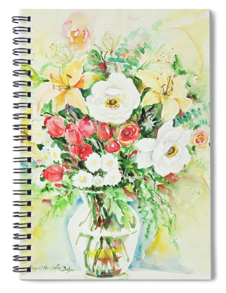 Watercolor Series 113 Spiral Notebook