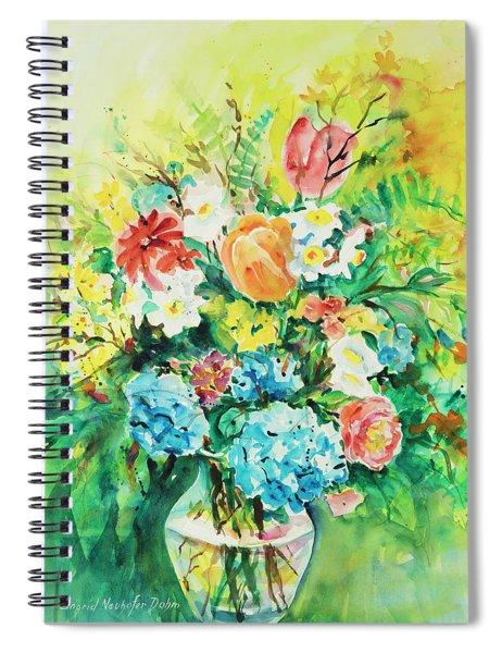 Watercolor Series 115 Spiral Notebook