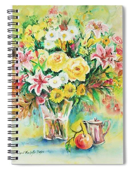 Watercolor Series 116 Spiral Notebook