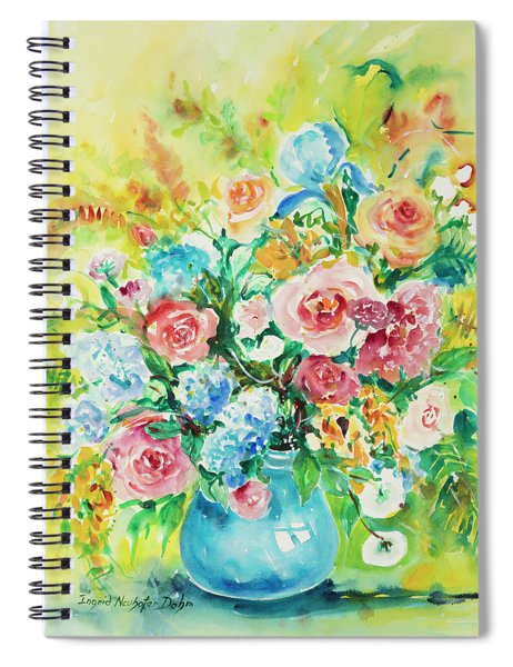 Watercolor Series 120 Spiral Notebook