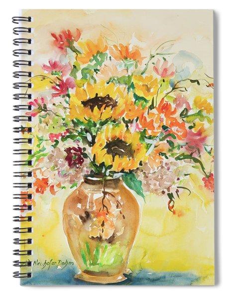 Watercolor Series 123 Spiral Notebook
