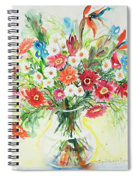 Watercolor Series 125 Spiral Notebook
