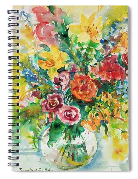 Watercolor Series 131 Spiral Notebook