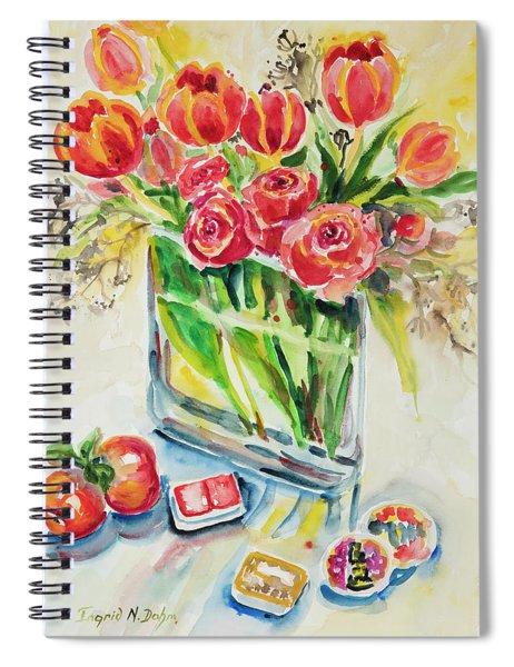 Watercolor Series 132 Spiral Notebook