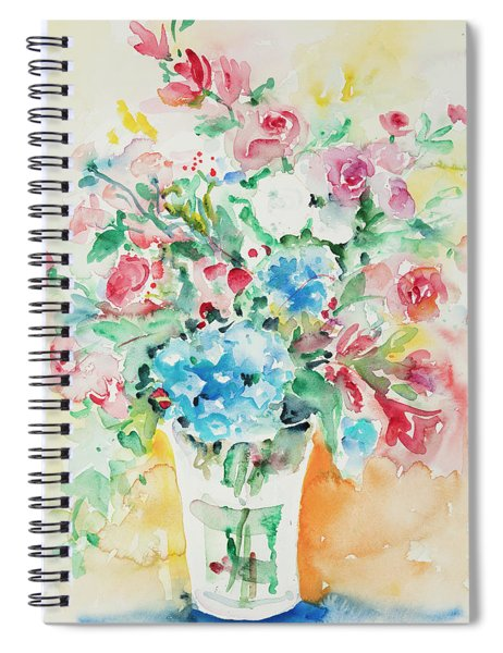 Watercolor Series 140 Spiral Notebook