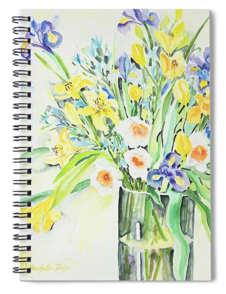 Watercolor Series 143 Spiral Notebook