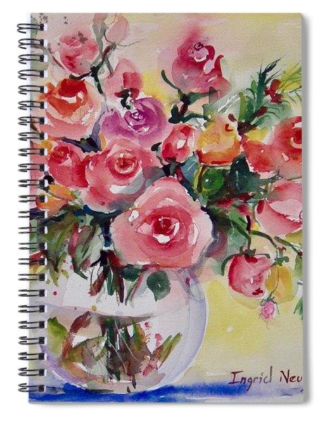 Watercolor Series 152 Spiral Notebook