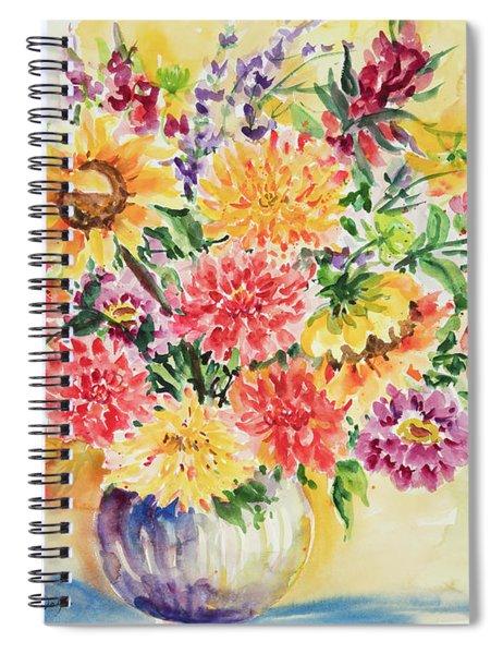 Watercolor Series 158 Spiral Notebook