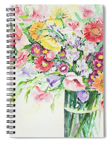 Watercolor Series 162 Spiral Notebook