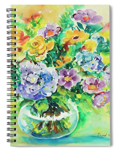 Watercolor Series 163 Spiral Notebook