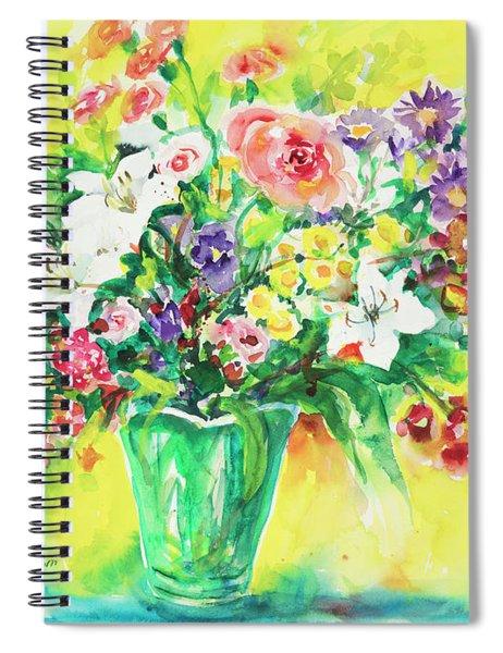 Watercolor Series 167 Spiral Notebook