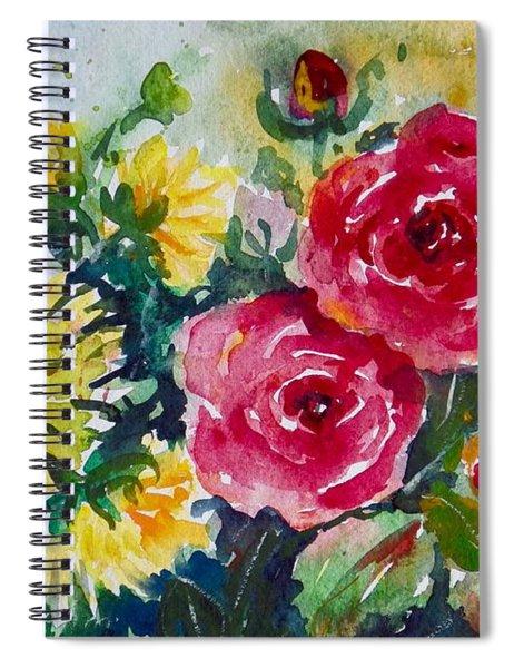 Watercolor Series No. 212 Spiral Notebook