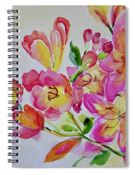 Watercolor Series No. 225 Spiral Notebook