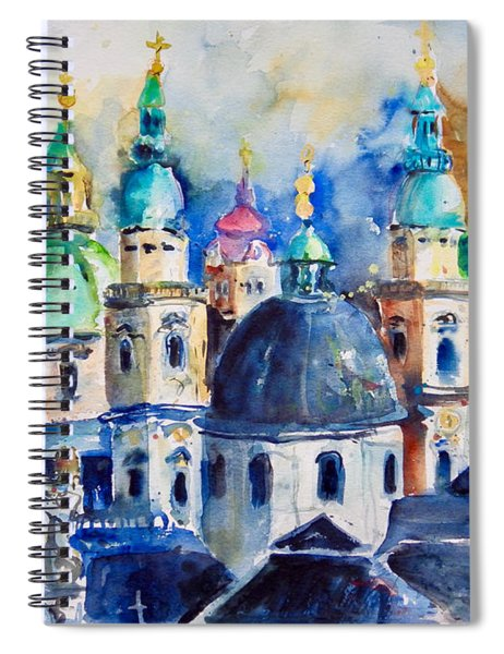 Watercolor Series No. 247 Spiral Notebook