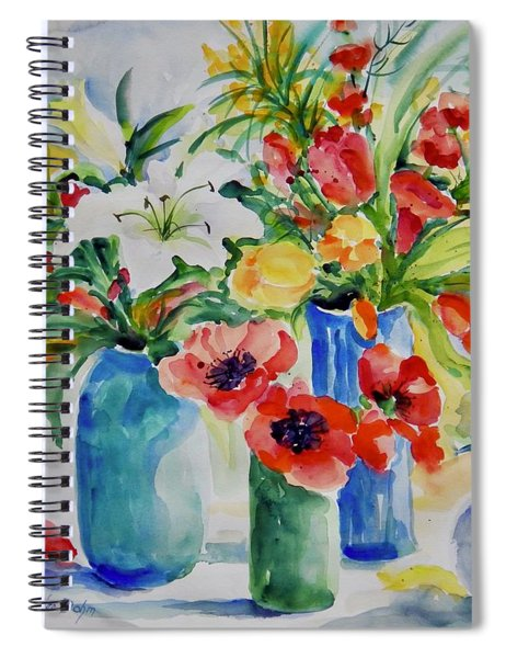 Watercolor Series No. 256 Spiral Notebook