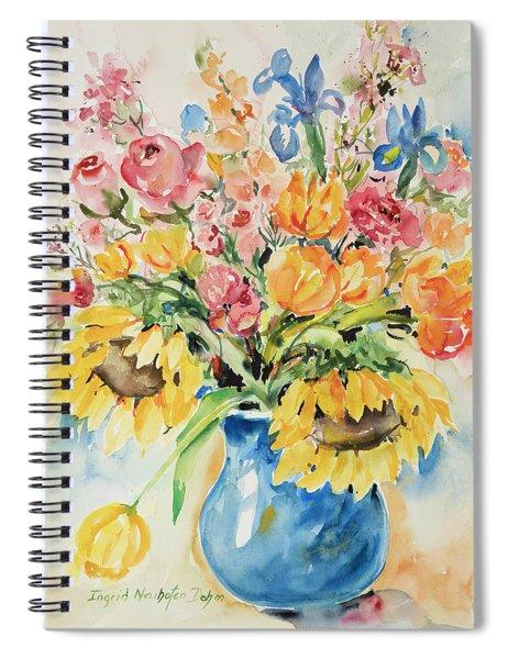 Watercolor Series124 Spiral Notebook