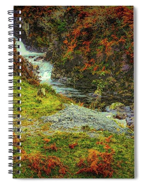 Waterfall 1 #g9 Spiral Notebook