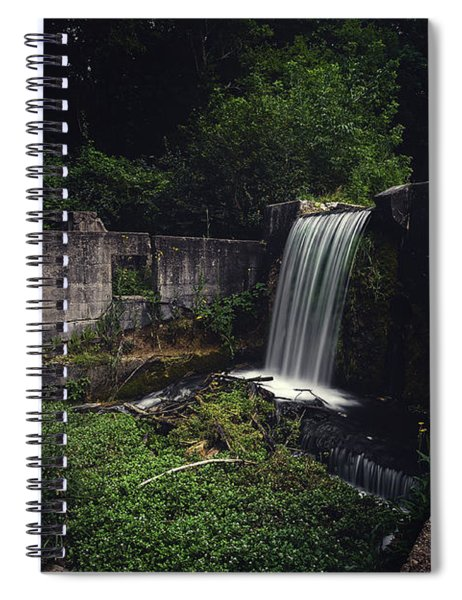 Waterfall At Paradise Springs Spiral Notebook