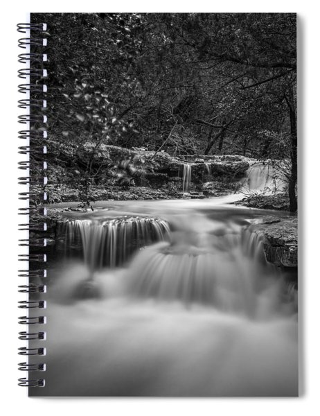 Waterfall In Austin Texas - Square Spiral Notebook