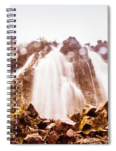 Waterfall Scenics  Spiral Notebook