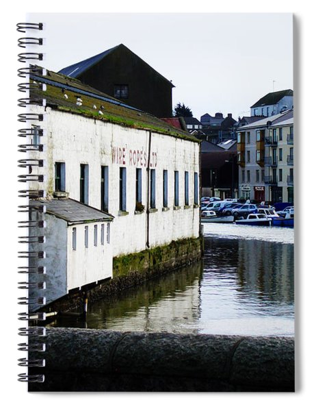Waterfront Factory Spiral Notebook
