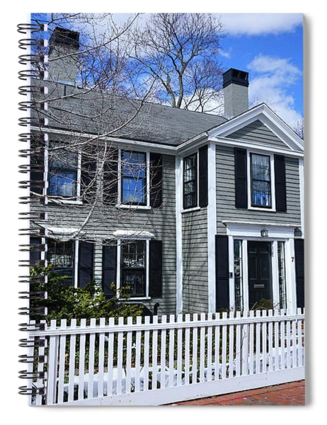 Waterhouse House In Cambridge Spiral Notebook