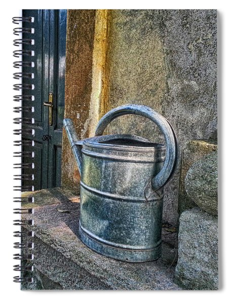 Watering Cans Spiral Notebook